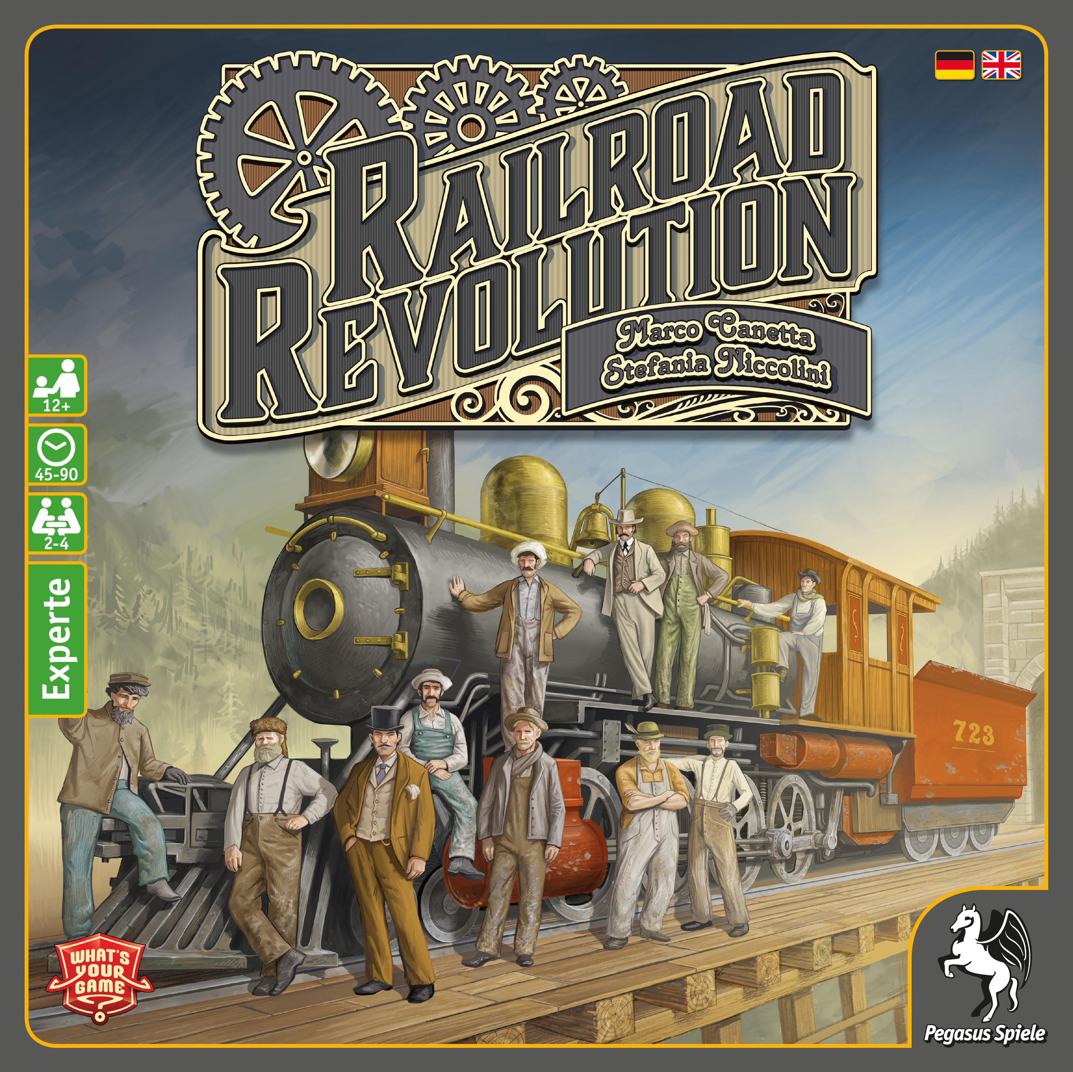 Railroad Revolution (français / anglais)